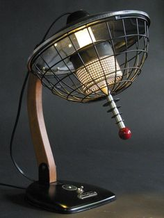SuperLectric Death Ray Table Lamp that I can't afford!