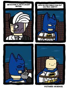 LEGO Batman's true identity