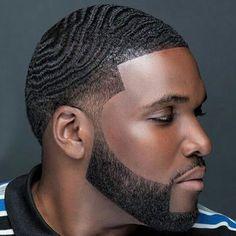 Bald Taper Fade, Taper Fade Haircut, Tapered Haircut, Taper Fade With Waves, Low Fade, Black Men Haircuts, Black Men Hairstyles, African Hairstyles, 1940s Hairstyles