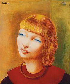 Moïse KISLING (1891-1953) Jeune fille rousse, 1937. Tajan Modern Art Auction June 28.