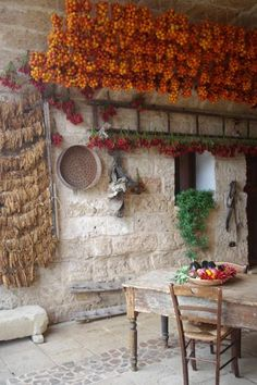 "A Typical Homestead in Salento - Salento has a great culinary tradition. The food is full of sunshine, creative and the dishes are made with minimal ingredients. After visiting Salento you can truly say ""I have tasted the best of Italy"". Have a look to the picture to feel the atmosphere of a typical Salento Homestead. Tomatoes, ... 