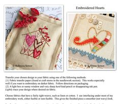 50 Hearts--PDF Embroidery Images