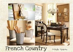 French inspired space