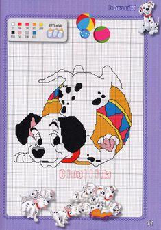 Cross Stitch Disney, Disney Cross Stitch Patterns, Cross Stitching, Cross Stitch Embroidery, Disney Music, Lady And The Tramp, Cross Stitch Animals, Crochet Doilies, Comic