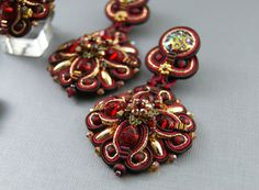 Soutache Earrings | Flickr - Photo Sharing!