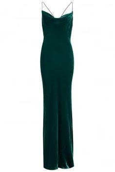 Antonia maxi dress in silk velvet #PrettyEccentric #Hollywood #Glamour #1930s #Thirties #Dress #Maxi #silk #Velvet