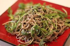 The London Foodie: ** Japanese Recipe** Soba Noodles with Japanese Pesto (Kawari Soba)