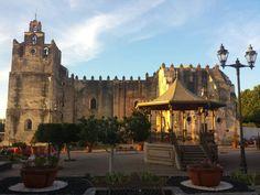 Arquitectura pura sin palabras una hermosa fortaleza #guanajuato #Yuriria Exconvento de San Agustín #Pueblomagico