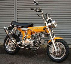 Honda Dax Yellow