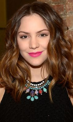 Mid-Length Hairstyles: Katharine McPhee, 2013