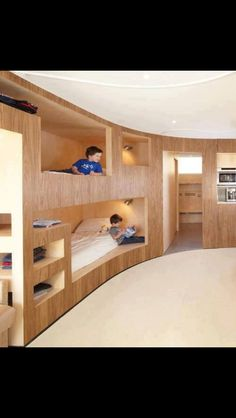 COOLEST BUNK BEDS EVER!!!!!!!!!!!!!!!!!!!! I keeping leaning toward bunk beds for the boys