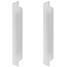 Karl Springer Frosted Glass Wall Sconces | From a unique collection of antique and modern wall lights and sconces at https://www.1stdibs.com/furniture/lighting/sconces-wall-lights/