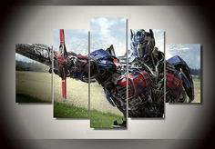 Style Your Home Today With This Amazing 5 Panel Optimus Prime Transformers Framed Wall Canvas For $99.00  Discover more canvas selection here http://www.octotreasures.com  If you want to create a customized canvas by printing your own pictures or photos, please contact us.