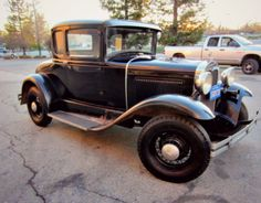 Did you know that GovLiquidation auctions off classic cars? Like this 1930 Ford Model A 5 Window Coupe!
