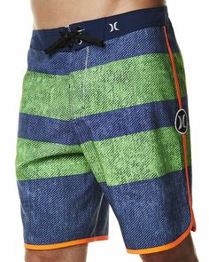 SURFSTITCH - MENS - BOARDSHORTS - ABOVE KNEE - HURLEY BLOCK PARTY DEUCE BOARDSHORT - MOSAIC BLUE