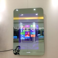 215 Bathroom Waterproof Mirror Tv With Smart KitGaobomei Electronics Magic Touch Screen