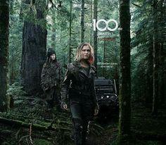 Clarke and Madi | The 100 season 5 poster