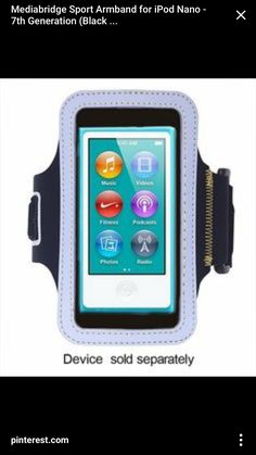 New - Mod.. Clear 5th // 6th Generation Mediabridge Armband for iPod Touch