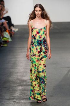 House of Holland Spring 2013 - fashion rainbow of life