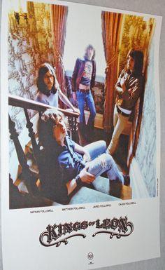 Kings of Leon Early Promo Poster #KOL $9.84