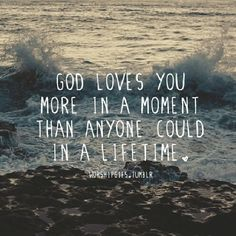 God's love surrounds us and is limitless
