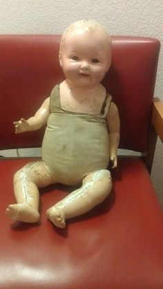 Harold the haunted doll: The doll was manufactured around the turn of the century and is made of composite particles, plaster and water. The doll has been owned by people around the world. All of the previous owners have reported strange occurrences, such as voices, slight movement and changes in facial expression. Headaches, migraines, back pain and unexplained injuries have also been reported while in its presence. .