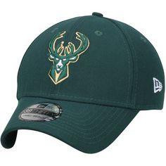 pretty nice 7528e 1bfd4 Men s Milwaukee Bucks New Era Green Team Classic 39THIRTY Flex Hat