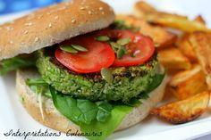 Interprétations Culinaires | Broco-cajou veggie burger