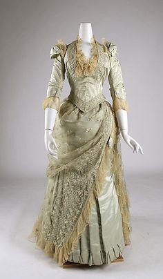Dress Date: 1880–85 Culture: American Medium: silk
