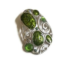 Glorious Green Vintage Fashion Team Love Daily Treasury by Tracy B on Etsy