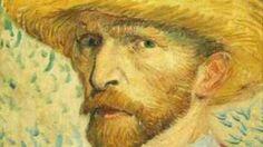 vincent van gogh self portrait - YouTube