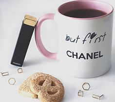 But first Chanel Pink Mug