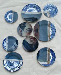 Portrait in Blue by Marcello de Simone
