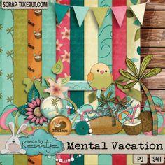 Mental Vacation mini kit http://scraptakeout.com/shoppe/-Made-By-Keuntje/