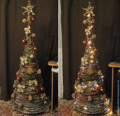 «Раз, два, три! Ёлочка, гори!»: новогодняя елка своими руками - Ярмарка Мастеров - ручная работа, handmade