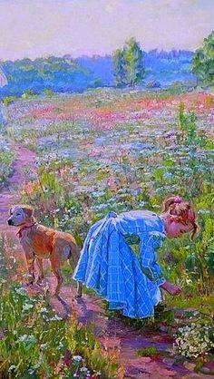 ART~Alexander Averin ~ Russian Painter1952