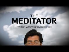 """Watch with your eyes closed"" The Meditator is a daily meditation show coming to The Chopra Well this spring!"