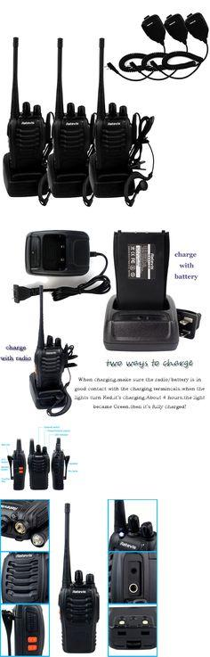 Walkie Talkies Two-Way Radios: 3X Retevis H777 Walkie Talkie Uhf400-470Mhz 5W 16Ch 2-Way Radio+3 Speaker Mic Us -> BUY IT NOW ONLY: $53.99 on eBay!