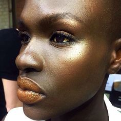 Gold makeup was the standard as seen backstage during #mbfwct2017. This look was keyed by @rainetauber for @maccosmetics (rg: @rainetauber) #MCBeauty #maccosmetics  via MARIE CLAIRE SOUTH AFRICA MAGAZINE OFFICIAL INSTAGRAM - Celebrity  Fashion  Haute Couture  Advertising  Culture  Beauty  Editorial Photography  Magazine Covers  Supermodels  Runway Models