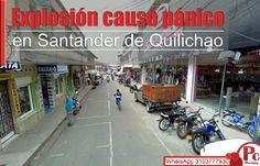 Un artefacto explosivo fue detonado hacia las 2:10 a.m. en un establecimiento comercial de Santander de Quilichao, ubicado en la calle 4 No. 11-86. Todos los detalles: [http://www.proclamadelcauca.com/2014/09/explosion-causo-panico-en-santander-de-quilichao.html]