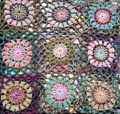 Beautiful color crochet work