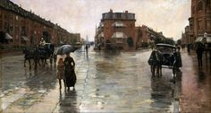 Childe Hassem-Rainy Day