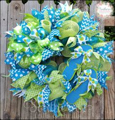 Check out this item in my Etsy shop https://www.etsy.com/listing/292772511/summer-wreath-flip-flop-wreath-mesh