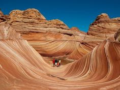 The Wave, one of the most gorgeous places in the world, is in Arizona.