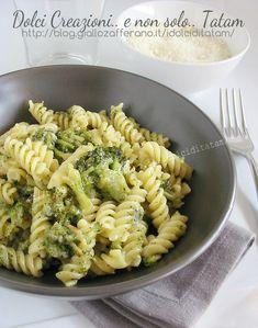 Pasta con broccoli e gorgonzola   ricetta semplice primo piatto