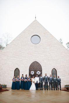 Bridal Party Photo at Ashton Gardens www.ashtongardens.com- www.LeighandBecca.com