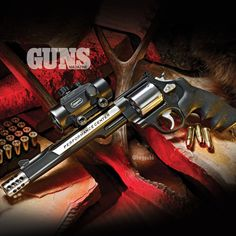 The King of Sixguns - S&W Performance Center's .44 Magnum Hunter | Click here to read more: http://gunsmagazine.com/the-king-of-sixguns/ | #smithandwesson #revolver #sixgun #performancecenter