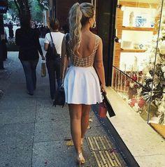 dress open back dresses