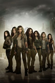 When Fandoms Collide: Teresa Agnes, Tris Prior, Hermione Granger, Katniss Everdeen, Clary Fray, Annabeth Chase, and Rose Hathaway
