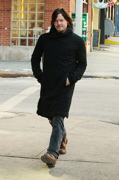 Norman struts his stuff in NYC